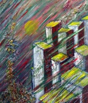 ab ovo IV - mixed media on canvas ©