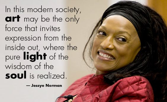Jessye Norman - https://www.pinterest.com/pin/377176537543960081/